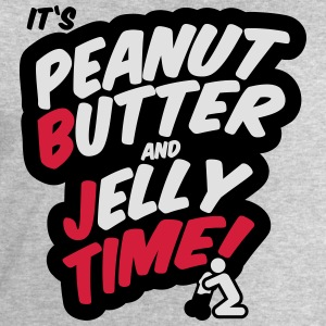 Peanut butter and jelly time, blowjob Manches longues - Sweat-shirt Homme Stanley & Stella