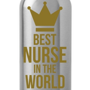 Best Nurse in the World Magliette - Borraccia