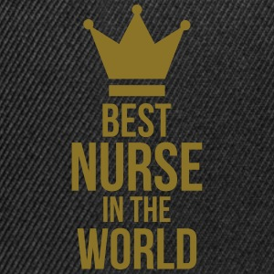 Best Nurse in the World Kookschorten - Snapback cap
