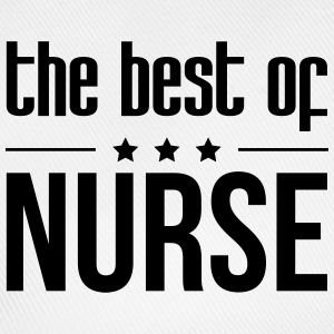 the best of Nurse T-skjorter - Baseballcap