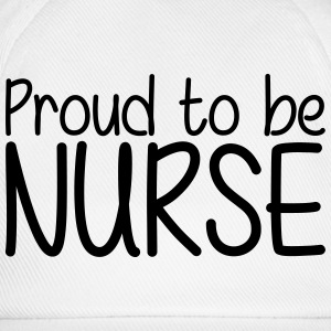 Proud to be Nurse T-skjorter - Baseballcap