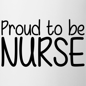Proud to be Nurse T-skjorter - Kopp