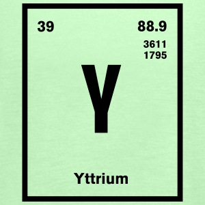 Yttrium Element im Periodensystem T-Shirts - Frauen Tank Top von Bella