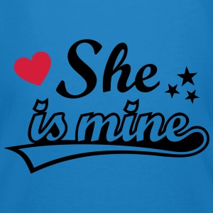 She's mine I love you my Girlfriend Ich liebe Dich Pullover & Hoodies - Männer Bio-T-Shirt