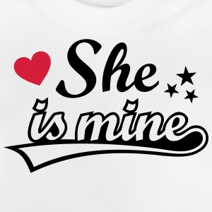 She's mine Love girlfriend. Valentine's Day gifts  Long Sleeve Shirts - Baby T-Shirt