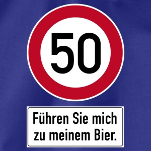 T-Shirt 50. Geburtstag Bier Birthday Party Feier - Turnbeutel