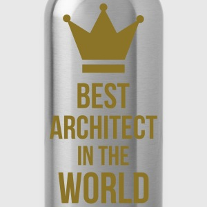 Best Architect in the World Magliette - Borraccia