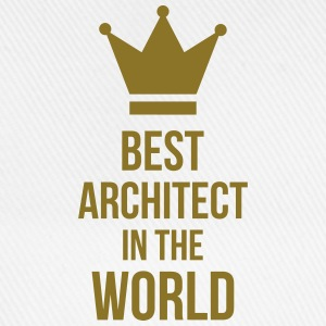Best Architect in the World Hoodies - Baseball Cap