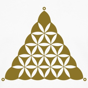 Crop circle, Flower Of Life, Triangle, Waden Hill T-Shirts - Men's Premium Longsleeve Shirt