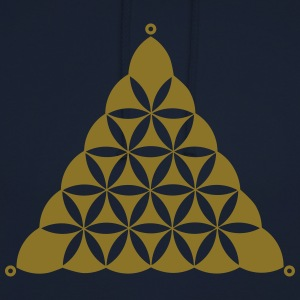 Crop circle, Flower Of Life, Triangle, Waden Hill T-Shirts - Unisex Hoodie