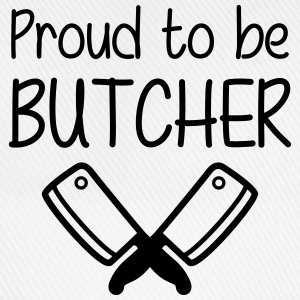 Proud to be Butcher T-shirts - Baseballcap