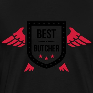 Best Butcher  Aprons - Men's Premium T-Shirt
