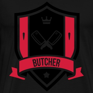 Butcher  Aprons - Men's Premium T-Shirt
