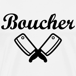 Boucher Tabliers - T-shirt Premium Homme
