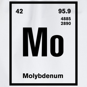 Molybdenum Element im Periodensystem T-Shirts - Turnbeutel