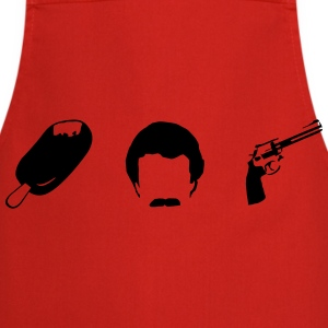 Magnum - Ice Bart Revolver T-Shirts - Cooking Apron