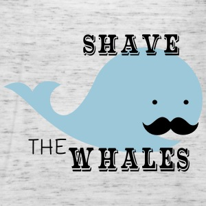 Shave The Whales - Frauen Tank Top von Bella