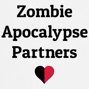zombie apocalypse partners Bags & Backpacks - Cooking Apron
