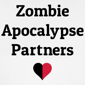 zombie apocalypse partners Bags & Backpacks - Baseball Cap
