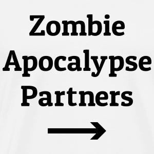 zombie apocalypse partners Tops - Men's Premium T-Shirt