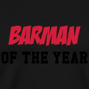 Barman of the year Mugs & Drinkware - Men's Premium T-Shirt