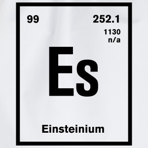 Einsteinium Element im Periodensystem T-Shirts - Turnbeutel