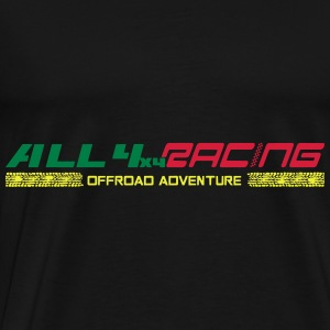 all4x4racing 3-Farbig Sweat-shirts - T-shirt Premium Homme