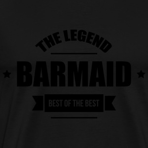 Barmaid  Aprons - Men's Premium T-Shirt