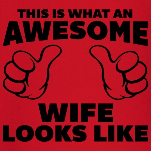 Awesome Wife Looks Like T-shirts - Langærmet babyshirt