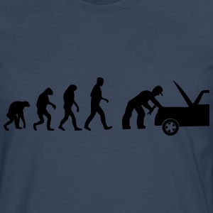 mechaniker evolution T-Shirts - Männer Premium Langarmshirt