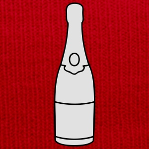 Champagne bottle T-Shirts - Winter Hat