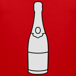 Champagne bottle T-Shirts - Men's Premium Tank Top