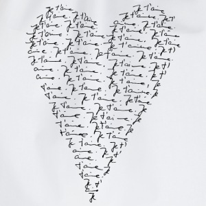 Je t`aime! Heart, Forever Love, Valentine's Day,  Tee shirts - Sac de sport léger