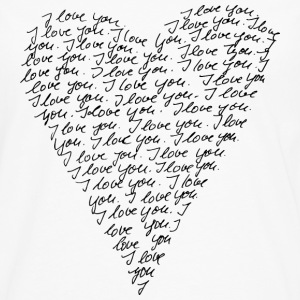 I love you! Heart, Forever, Infinity, Valentine's Day,  Tee shirts - T-shirt manches longues Premium Homme
