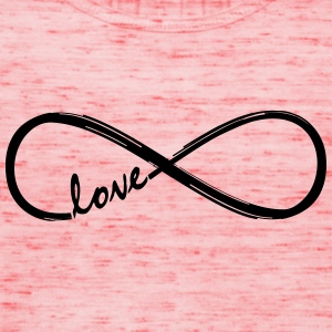 Forever Love! Infinity Loop, Eternal Knot, Valentine's Day,  T-Shirts - Women's Tank Top by Bella