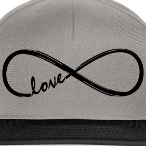 Forever Love! Infinity Loop, Eternal Knot, Valentine's Day,  T-Shirts - Snapback Cap