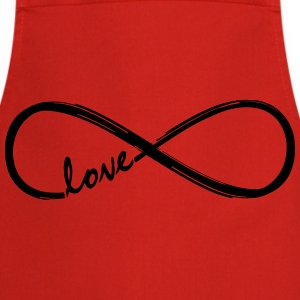 Forever Love! Infinity Loop, Eternal Knot, Valentine's Day,  T-Shirts - Cooking Apron