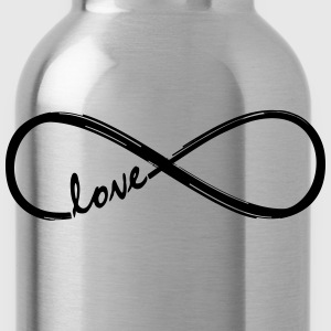 Forever Love! Infinity Loop, Eternal Knot, Valentine's Day,  T-Shirts - Water Bottle