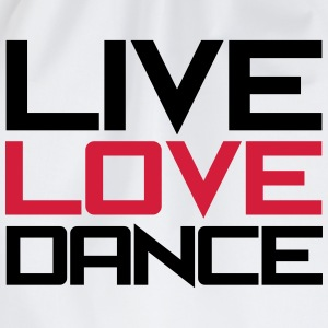 Live Love Dance T-shirts - Gymtas