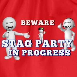 Stag Party - Drawstring Bag