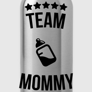 Team Mommy Mummy mother bottle milk T-Shirts - Water Bottle