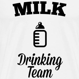 Milk drink team Hoodies & Sweatshirts - Men's Premium T-Shirt