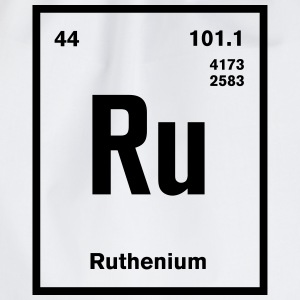 Ruthenium Element im Periodensystem T-Shirts - Turnbeutel