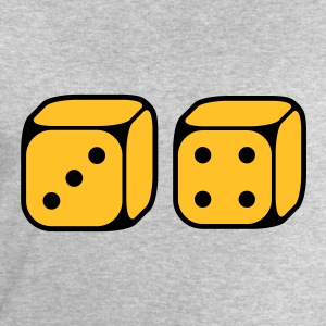 Dices With Number 3 and 4 (2C) T-Shirts - Men's Sweatshirt by Stanley & Stella