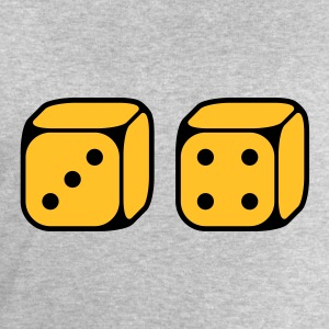 Dices With Number 3 and 4 (2C) Shirts - Men's Sweatshirt by Stanley & Stella