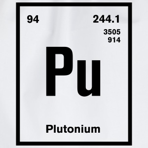 Plutonium Element im Periodensystem T-Shirts - Turnbeutel