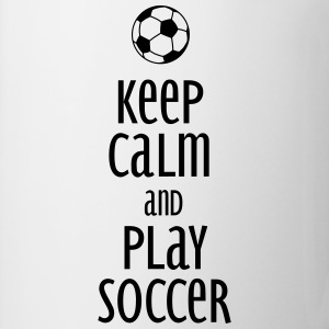 keep calm and play soccer Gensere - Kopp