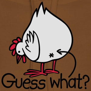 Guess what? (Chicken butt!) T-Shirts - Frauen Premium Hoodie