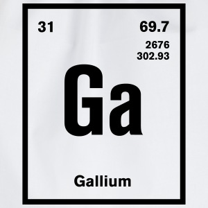 Gallium Element im Periodensystem T-Shirts - Turnbeutel