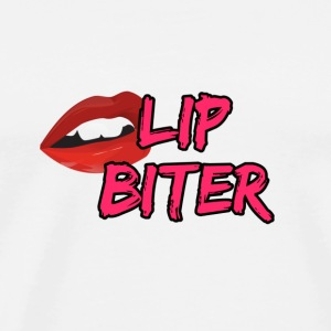 Lip Biter - Men's Premium T-Shirt